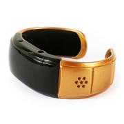 台硕 W100S 智能设备 时尚蓝牙手环 通话手镯 防丢失防辐射 安卓手机苹果三星通用 金色