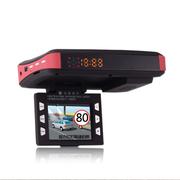 途美 G900三合一行车记录仪高清夜视广角车载安全预警仪测速一体机 流动测速+固定测速+不含卡