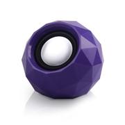 果珈 便携式迷你小音箱 USB音箱 台式笔记本电脑通用音箱 适用于苹果/三星/小米/华为 紫色