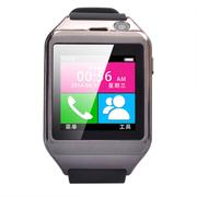 酷道 M13手机智能手表触摸屏蓝牙手环腕表手镯 穿戴设备可插SIM卡 测睡眠计步器免提通话 钨钢黑