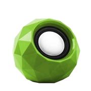 果珈 便携式迷你小音箱 USB音箱 台式笔记本电脑通用音箱 适用于苹果/三星/小米/华为 绿色