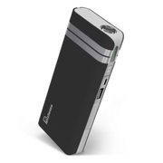 叛逆者(panizhe) 移动电源11000mAh手机平板通用智能充电宝 带强光手电防尘盖 黑骑士 标配+3合1线+1A充电头