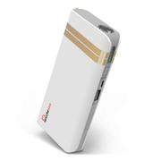 叛逆者(panizhe) 移动电源11000mAh手机平板通用智能充电宝 带强光手电防尘盖 金色 标配+3合1线+双U口2A充头