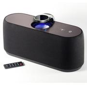 CKY 无线蓝牙音箱 重低音音响 家居遥控触摸音响 NFC配对 CK405B-炫酷黑-遥控