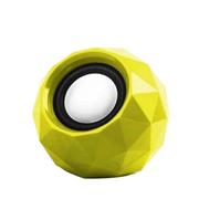 果珈 便携式迷你小音箱 USB音箱 台式笔记本电脑通用音箱 适用于苹果/三星/小米/华为 黄色