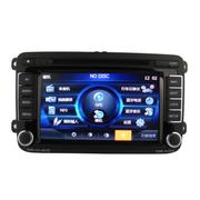 飞歌 开拓者66007大众专车专用车载DVD汽车导航一体机 POLO+专用面框+记录仪