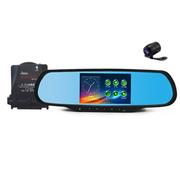 菲特安 S2尊享版 专车专用后视镜导航行车记录仪云电子狗 WINCE系统安霸A7稳定一 赠32G卡+倒车后视 4B