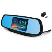 菲特安 S2尊享版 专车专用后视镜导航行车记录仪云电子狗 WINCE系统安霸A7稳定一体机 赠32G卡 4A