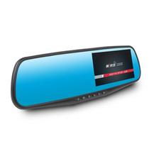 第一现场 第1现场D203 双镜头后视镜行车记录仪 170广角 1200W 1080P高清 4.3寸 标配-32G高速卡产品图片主图