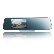 金马 KM816防炫蓝镜高清1080p车载后视镜行车记录仪摄像头 蓝镜官方标配