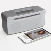 维尔晶 X7无线蓝牙音箱4.0低音炮双喇叭2.0 NFC迷你插卡手机便携音响HIFI功放 银灰