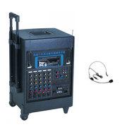 HNM 音箱101充电音箱 婚庆音箱 移动跳舞手拉有源音箱 移动无线音箱 液晶屏 蓝牙+US 蓝牙+USB+1配件