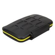 JJC MC-SDCF6 防水防尘防震 存储卡盒 闪存卡收纳盒 可放4张SD 和 2张CF