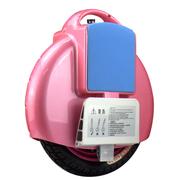 斯波兰 平衡车单轮 时尚体感车 电动独轮车 智能代步车便携 杰豹系列 X2粉色
