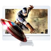 杰灵 21.5英寸一体电脑 (3D屏酷睿四代i3-4130 4G 固态盘) i3-4130 带3D屏 炫白