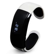 华为 B2智能手环 与手机完美配合 当蓝牙耳机防水智能腕带运动睡眠计步器  银色(运动版)