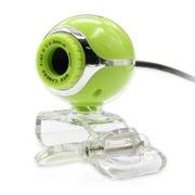 IT-CEO W9SX2 豌豆炮手免驱高清USB摄像头 在线视频 网络会议 支持台式 笔记本电脑 普通桌面式 嫩绿色