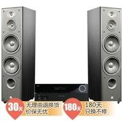 JBL E90组合套装(墨西哥主音箱E90+AVR151功放机) 家庭影院套装 (黑色)