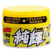 SOFT99 纯辉 高级万能清洁软蜡 养护蜡 SF-30130