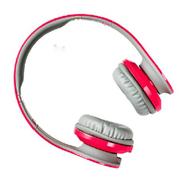乐迈 ROMANS360头戴式蓝牙耳机 外接音频线三星苹果耳机 粉色