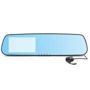 小霸王 行车记录仪168-8 蓝屏防眩目4.3寸超广角超强夜视循环录影 标配+8G卡