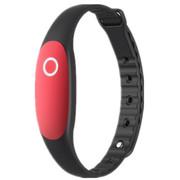 YEMEKE 智能手环 bong2 智能手环睡眠监测运动防水计步器 蓝牙可穿戴设备 丹红色