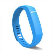 YEMEKE 智能手环 可穿戴设备 APP运动计步器 睡眠健康管理运动手环 天空蓝
