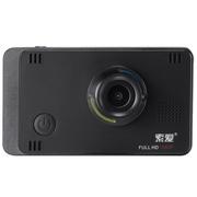 索爱 A5智能行车记录仪 超高清1080P广角夜视 GPS 防碰瓷 黑色+16G卡+1年延保 标准