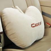 车仆 雅致苹果抱枕车用抱枕四季通用型抱枕背靠腰靠背垫