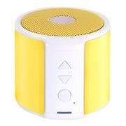 蒙奇奇 D100便携无线蓝牙音箱 多功能迷你音响mp3 强劲低音炮 迷你电脑音箱 插卡音响 黄色