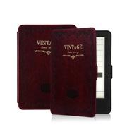 品怡 经典复古商务皮套 适用于kindle6/kindle499/newkindle保护套 红色