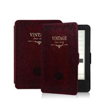 品怡 经典复古商务皮套 适用于kindle6/kindle499/newkindle保护套 红色产品图片主图