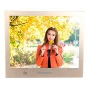 纽曼 D08MHD 8英寸数码相框 支持720P视频播放 土豪金 送礼佳品