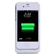 现代演绎 D4 1900毫安 苹果iPhone4 4S专用充电宝 手机壳 背夹电池 白色