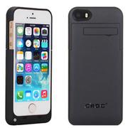 现代演绎 D5A 2200毫安 苹果iPhone5 5S专用充电宝手机壳 背夹电池 黑色