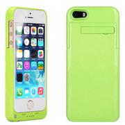 现代演绎 D5A 2200毫安 苹果iPhone5 5S专用充电宝手机壳 背夹电池 绿色