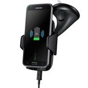 三星 EP-HN910I 无线充电车载支架(黑色)含车载充电器 支持4-5.7寸智能手机 无线更便捷