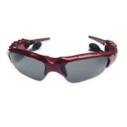 HNM 蓝牙太阳眼镜 智能眼镜  蓝牙眼镜  智能穿戴眼镜 时尚眼镜 迷你眼镜 手机眼镜 车眼镜 酒红色 套餐四