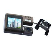 泰洋星 车载行车记录仪停车监控带夜视1080P高清汽车黑匣子后视镜双镜头电子狗雷达测速 JLO2高配版记录仪 带32G卡