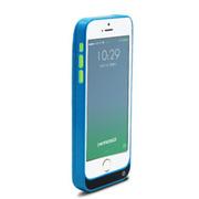现代演绎 D5C 2200毫安 苹果iPhone5 5S 5C专用充电宝 手机壳 背夹电池 蓝色