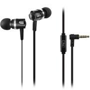 乐铂斯 IP116 重低音金属手机耳机 黑色 带话筒线控