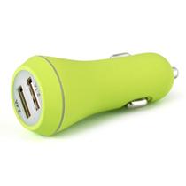 先科 车载充电器  双USB智能充电带电瓶电压检测车载电源 点烟器usb车充 T18 2.1A 单usb银色产品图片主图