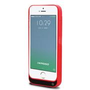 现代演绎 D5C 2200毫安 苹果iPhone5 5S 5C专用充电宝 手机壳 背夹电池 红色