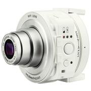 霸王兔 SP-W501 无线智能 镜头式数码相机 手机WIFI遥控 白色