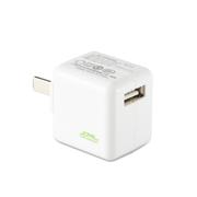 JCPAL 单双口USB万能充电器 适用于手机平板 1A单口电力方充电器