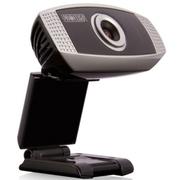 第一印象 U6高清网络电脑摄像头 免驱 内置麦克风 QQ视频特效 黑色