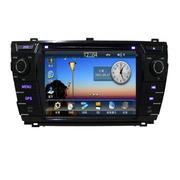 君路仕 4S店专供 丰田车系DVD导航 GPS嵌入式车载导航仪 固定测速预警 倒车影像一体机 丰田-14款卡罗拉 DVD导航仪