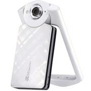 卡西欧 EX-TR500 数码相机 单机版 白色 (1110万像素 21mm广角 自拍神器)