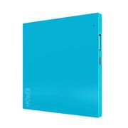 Lessmore 迷你饼干超薄3D色彩移动电源2600毫安 蓝色