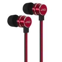 ZHiKU 入耳式线控带麦手机耳机 红色产品图片主图